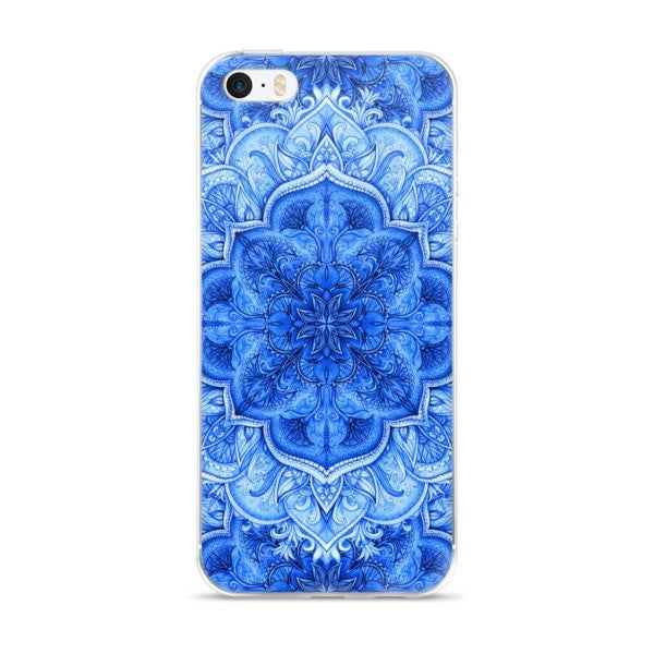 Continuous Moroccan floral iPhone case - Hutsylife - 1