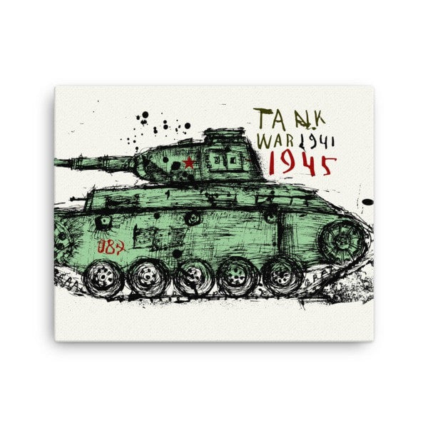 Tank 1945 Canvas - Hutsylife - 1