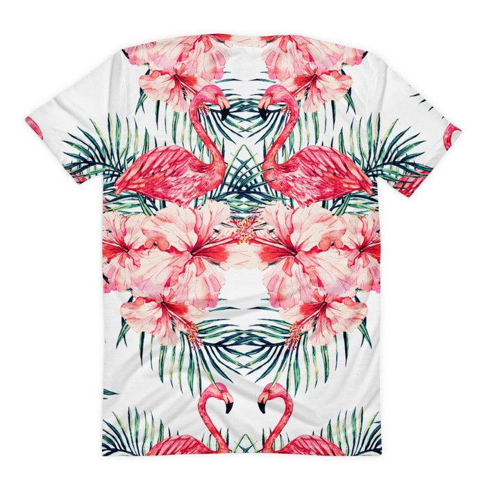 All over print - Flamingo Stare Women's sublimation t-shirt