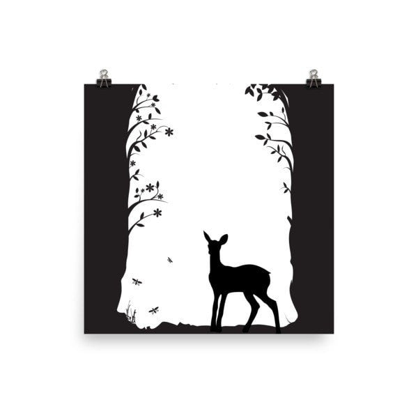 Deer's tunnel Poster - Hutsylife - 3