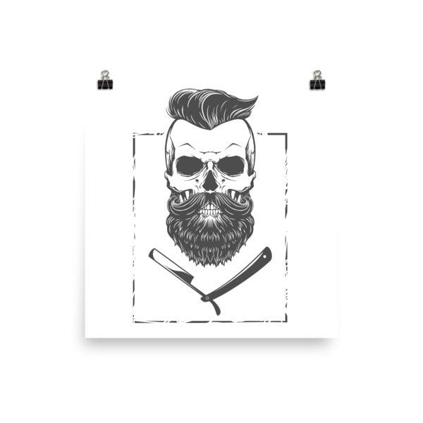 The Beard Poster - Hutsylife - 2