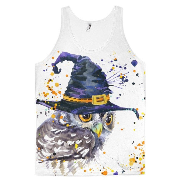 Owl Wizard Classic fit men's tank top - Hutsylife