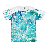 All over print - Boho Lotus Short sleeve men's t-shirt - Hutsylife - 1