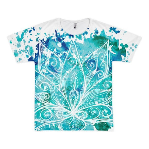 All over print - Boho Lotus Short sleeve men's t-shirt