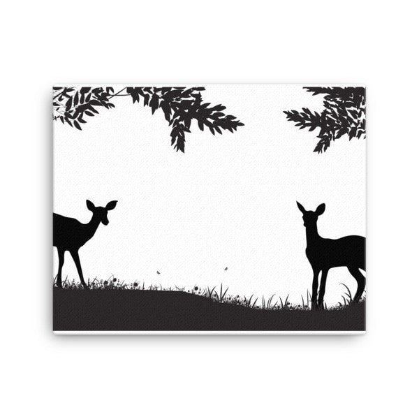 Lookout deer Canvas - Hutsylife - 2