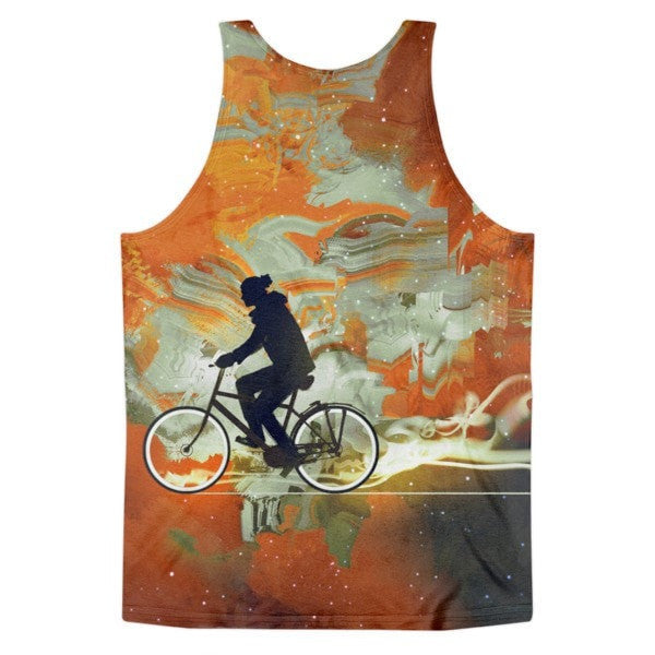 All over print - Bicycle universe Classic fit men's tank top - Hutsylife - 2