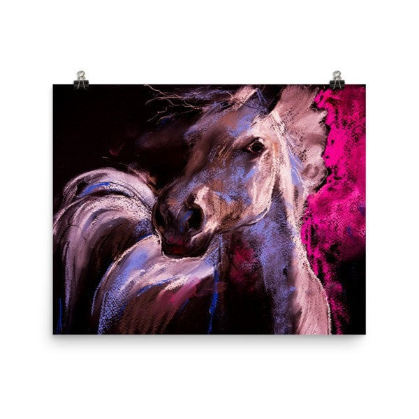 Pastel horse Poster - Hutsylife - 8