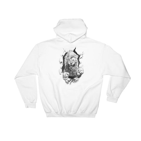 Hutsylife - Lion Snare Hoodie (Back print)