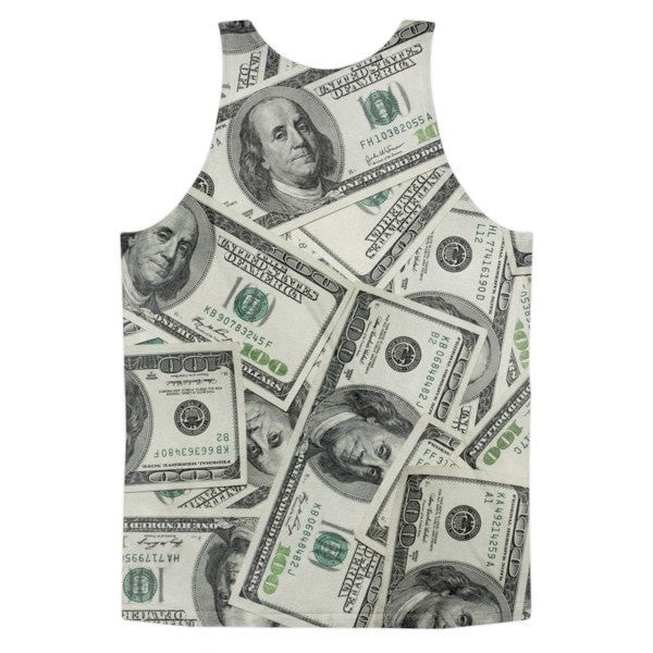 All over print - Dolla Dolla Classic fit men's tank top - Hutsylife - 2