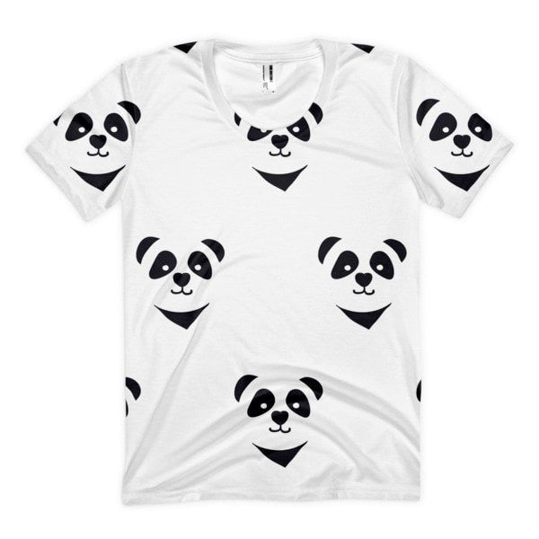 All over print - Panda express Women's Sublimation T-Shirt - Hutsylife - 1
