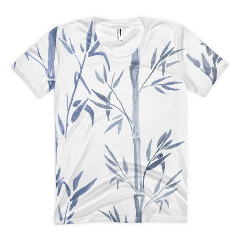 All over print - Bamboo chute Women's sublimation t-shirt