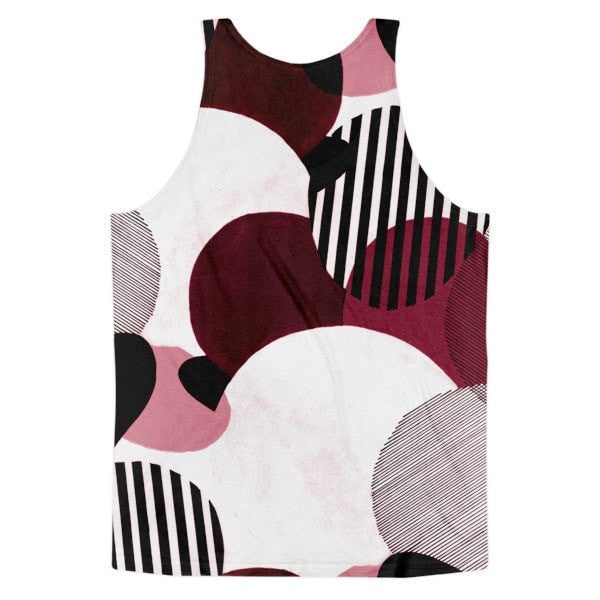 All over print - Minimalist Classic fit men's tank top - Hutsylife - 2