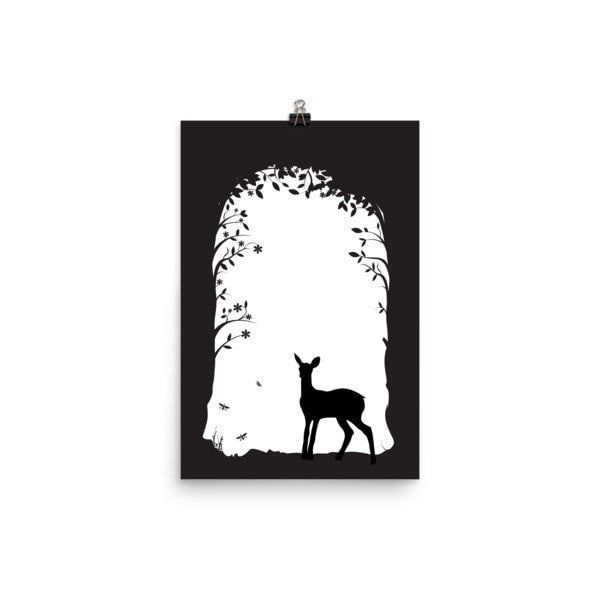 Deer's tunnel Poster - Hutsylife - 4