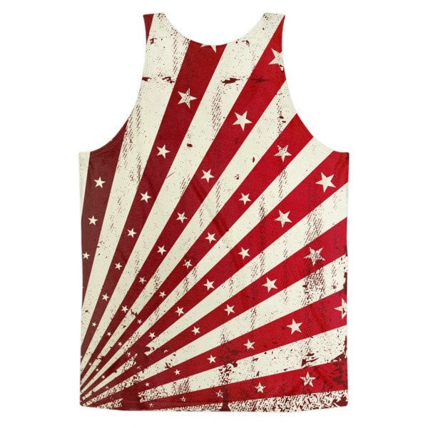 All over print - Shining star Classic fit men's tank top - Hutsylife - 2