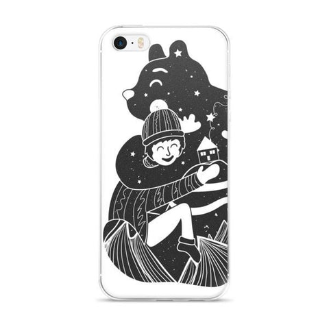 Bear Hug iPhone case