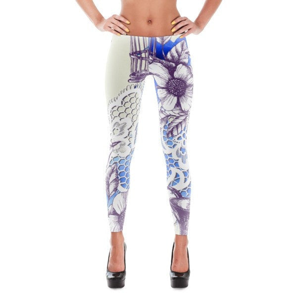 Bird romance Leggings - Hutsylife - 1