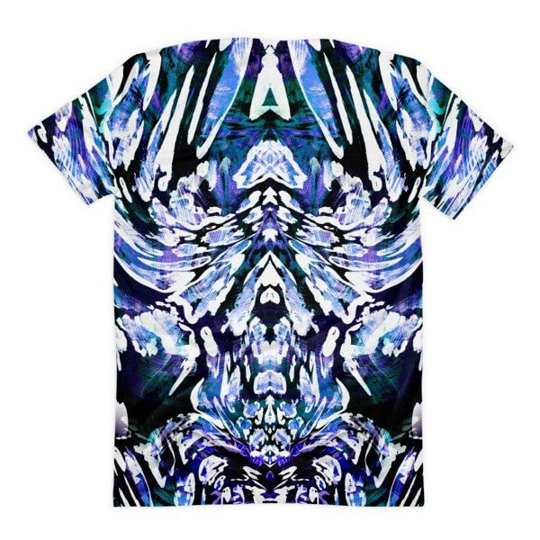All over print - Leopard print Women's sublimation t-shirt - Hutsylife - 2