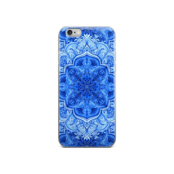 Continuous Moroccan floral iPhone case - Hutsylife - 3