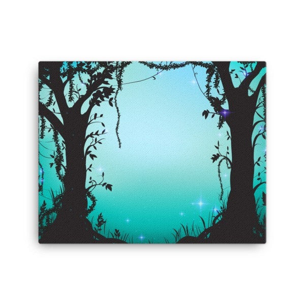 Thicket night Canvas - Hutsylife - 2
