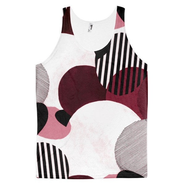 All over print - Minimalist Classic fit men's tank top - Hutsylife - 1