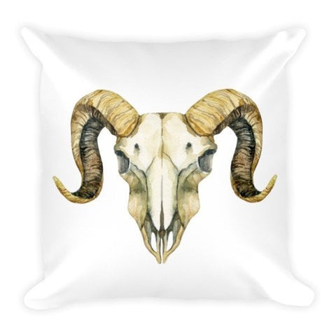 Ram skull Pillowcase