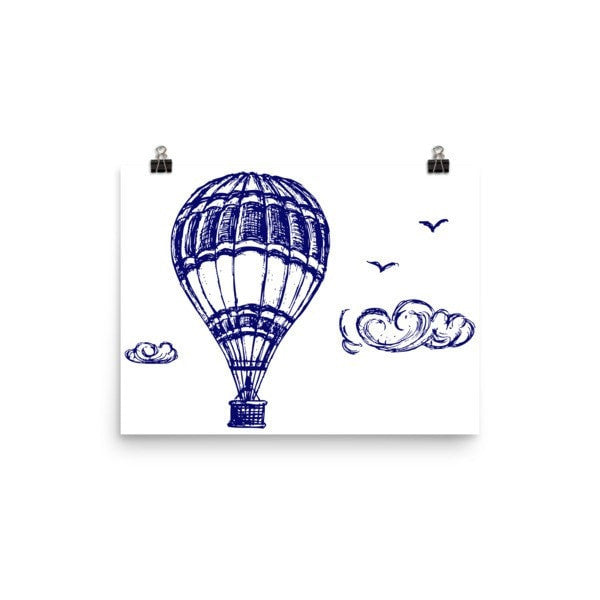 Hot air Poster - Hutsylife - 5