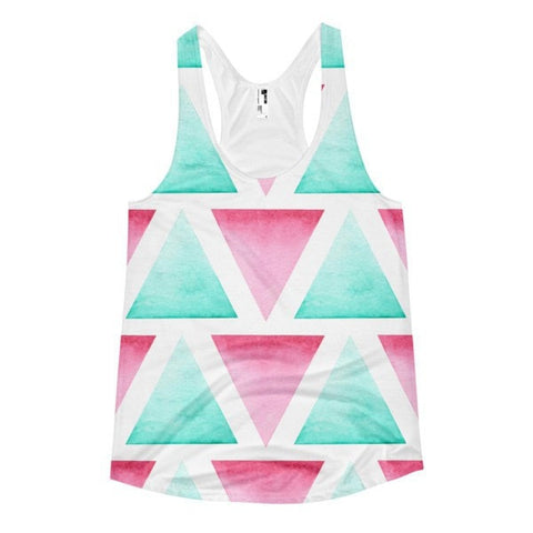 All over print - Blended Women's racerback tank