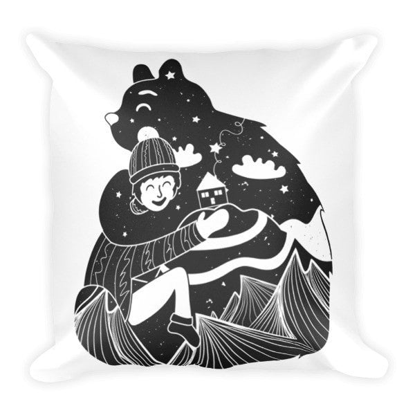 Bear hug Pillowcase - Hutsylife - 2
