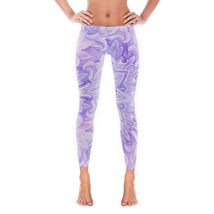 Ace Purple Leggings