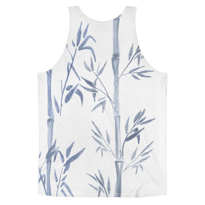 All over print - Bamboo chute Classic fit men's tank top