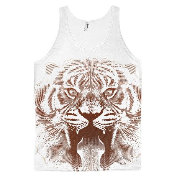 Tiger roar Classic fit men's tank top - Hutsylife