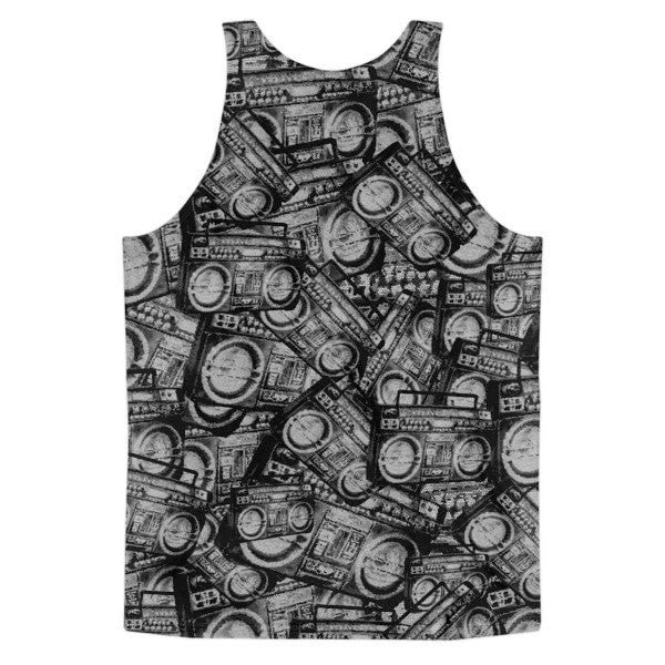 All over print - Ghetto Blaster Classic men's fit tank top - Hutsylife - 2
