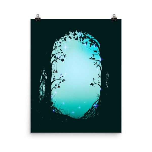 Green forest way Poster - Hutsylife - 9