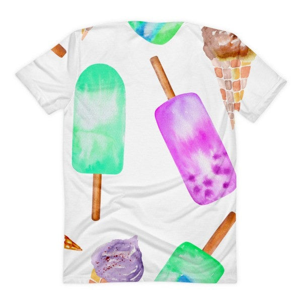 All over print - Popsicle life Women's sublimation t-shirt - Hutsylife - 2