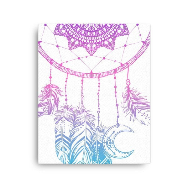 Boho dreamcatcher Canvas - Hutsylife - 2