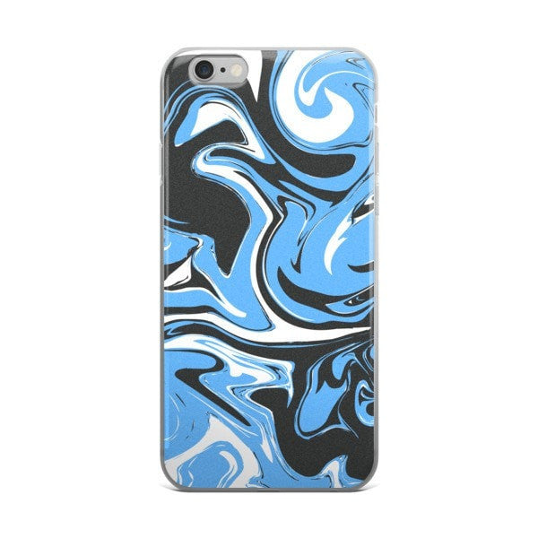 Blue marble swirl iPhone case - Hutsylife - 2