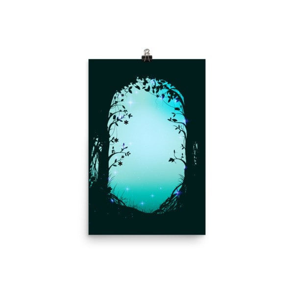 Green forest way Poster - Hutsylife - 7