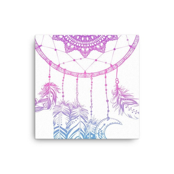 Boho dreamcatcher Canvas - Hutsylife - 1