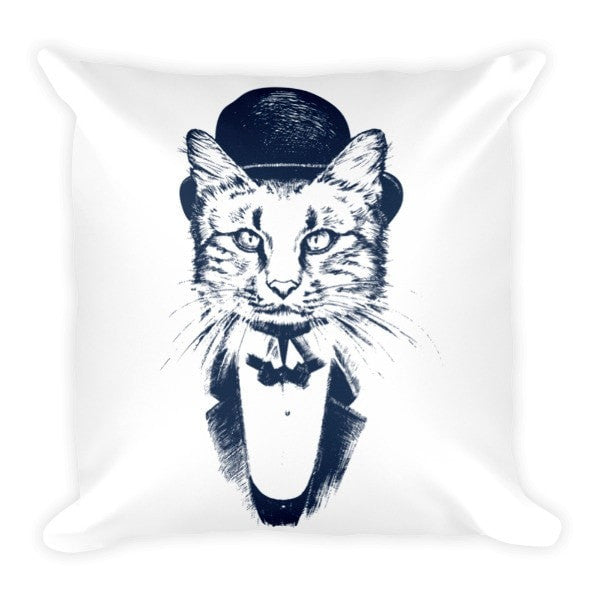 Cat Gentleman Pillowcase - Hutsylife - 2