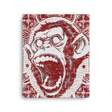 Angry monkey Canvas - Hutsylife - 2