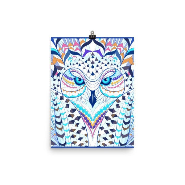 Snowy owl Poster - Hutsylife - 5