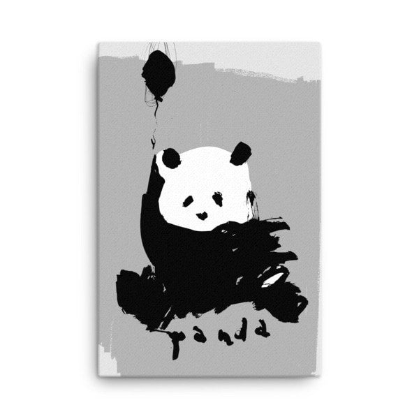 Flying Panda Canvas - Hutsylife - 3