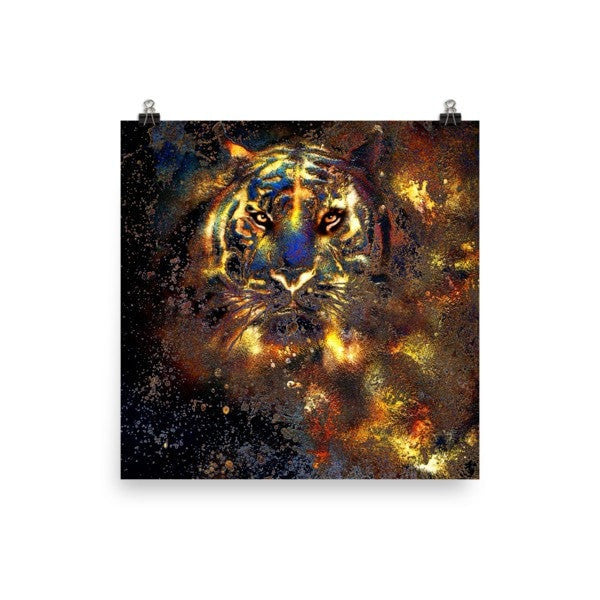 Traillin Tiger Poster - Hutsylife - 2