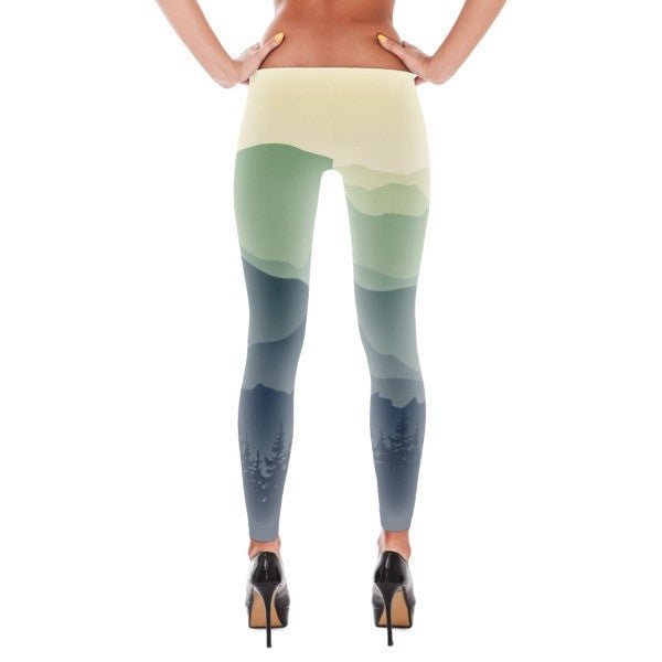 Mountain fog Leggings - Hutsylife - 2