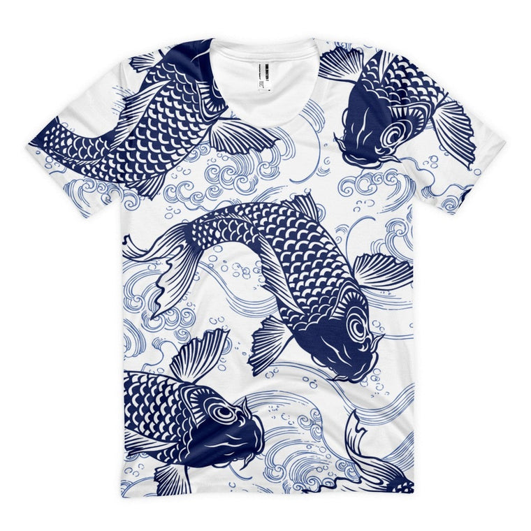 All over print - Koi life Women's sublimation t-shirt