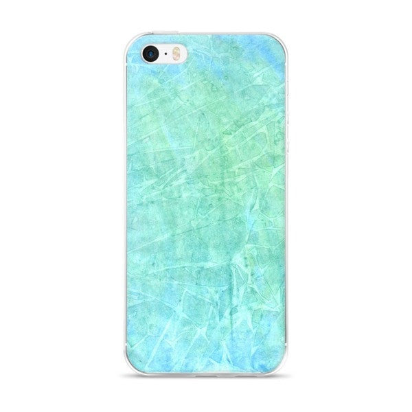 Aqua water iPhone case