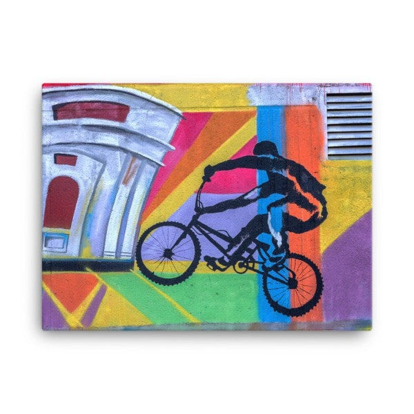 Bike life alter Canvas - Hutsylife - 3