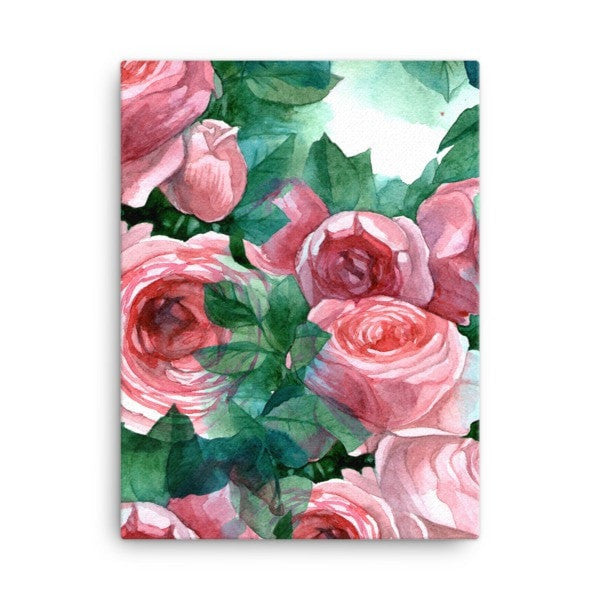 Pink rose Canvas - Hutsylife - 3