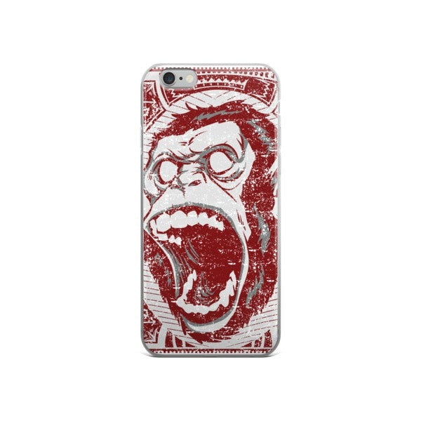 Angry Monkey iPhone case - Hutsylife - 3