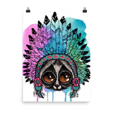Loris headress Poster - Hutsylife - 6